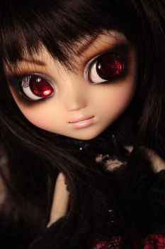 Custom Pullip Faceup by chibi-lilie
