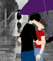 Kiss Me In The Rain by Busted-Love