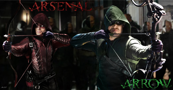 Arrow/Arsenal Banner by fmirza95