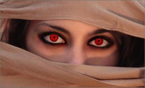 Eyes of pure Evil by asdfgfunky