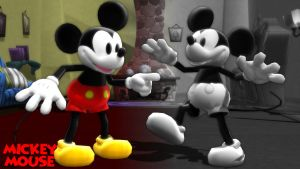 (MMD Model) Mickey Mouse Classic Download by SAB64