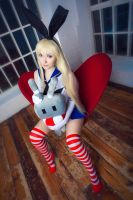Shimakaze (pin-up style) by jurisdictia