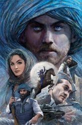 Khyber Knights Graphic Novel 01 Cover by Nisachar