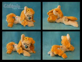 Pear Butter Custom Plush by Chibi-pets