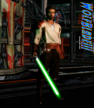 Kyle Katarn by WOLFBLADE111