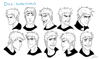 Dice Expressions by Slatena