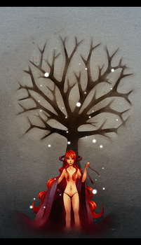 lament of the goddess by pinkay
