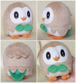 Rowlet V2 - Pattern for sale!! by ButtercupBabyPPG