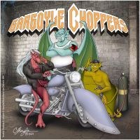 Gargoyles Choppers by MommySpike