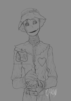 Mojo Holding A Baby Chicken by ChroniclerEnigma