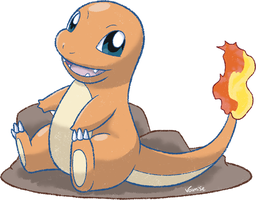 004 - Charmander by Volmise
