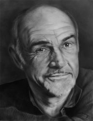 Sean Connery by miualpainter