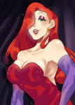 Jessica Rabbit by kanoii-chi