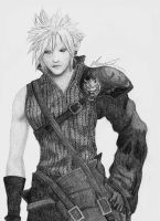 Cloud Strife by MariaMisen
