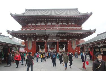 Senso-ji Temple at Asakusa by gilangkharisma