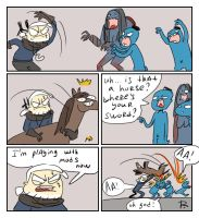 The Witcher 3, doodles 342 by Ayej