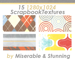 Scrapbook Texture Pack 1 by awfullybad