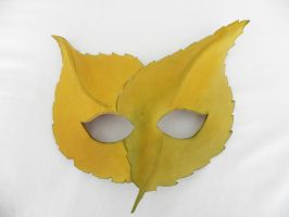 Fallen Leaves Mask by Polymnia88