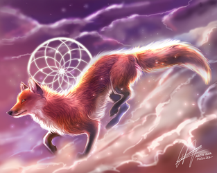 How The Fox Created The World by ISHAWEE