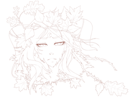 Halloween Forest Witch WIP by Iydimm