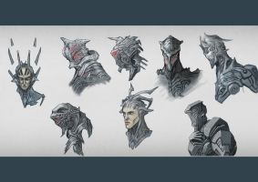 Heads and Helmets - Scifi by TSABER