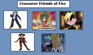 Jason's Crossover Friends of Five by MarioFanProductions