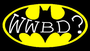 What Would Batman Do? by Coinin