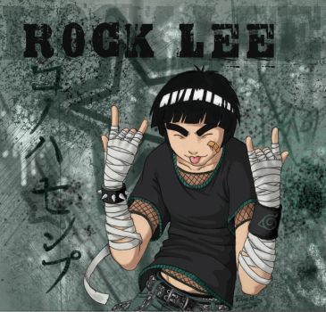 Rock Lee -- throw 'em up by nocturnalMoTH