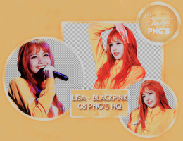 [PNG PACK #116] LISA (BLACKPINK) by fairyixing