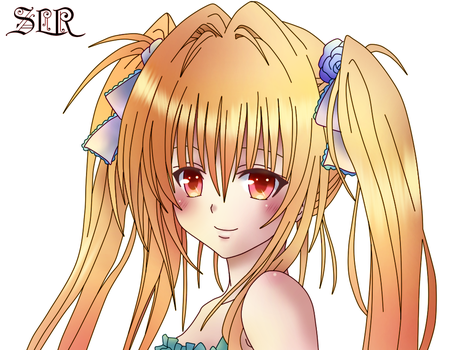 konjiki no yami To love-ru lineart gimp 2.8 by Matheus05tl