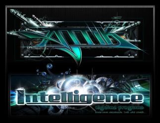 Attik and Intelligence Id's for Catalyst Records by psikodelicious