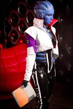 Mass Effect 2 - Asari by love-squad