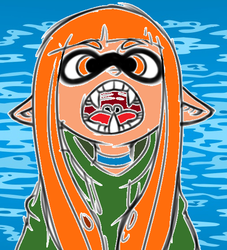 Inkling Girl Ver 2 by Wakko666