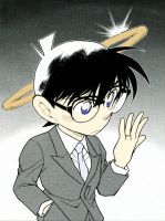 Conan wearing a wedding ring by hallow777