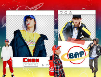 Pack Png 1343 // Chen (EXO) by BEAPANDA