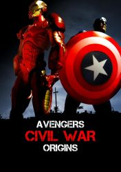 Avengers Origins: Civil War by misterhessu