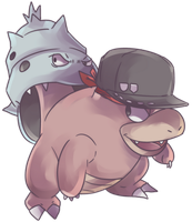 Custom Yadoran | Slowbro Commission