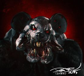 Mickey mutant angry Mouse by tooDeee