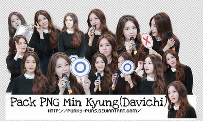 PNG Pack Min Kyung(Davichi)#3 By Punky by Punky-Puns