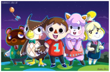 Animal Crossing by weird-science