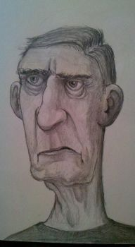 Crotchety Crooked Old Man by JJChalupa2000