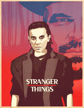 Stranger Things Illustration by SuperScoundrel