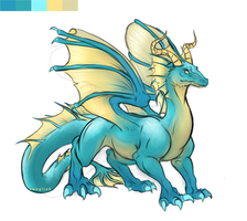 palette dragon by Swagliad