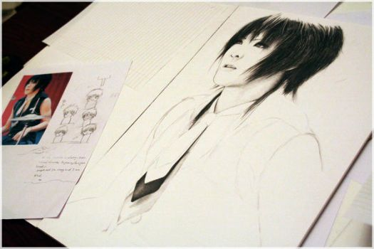 Kai - The GazettE .3. - WIP by Kyunai