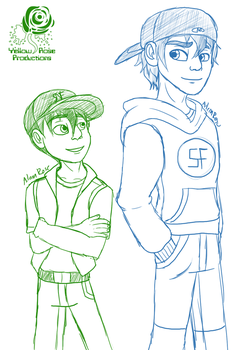 BH6: Age Swapped Hamadas by Aileen-Rose