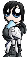 Xion Chibi by RedPawDesigns