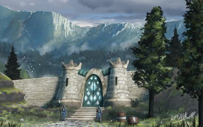 East Gate by FrankAtt