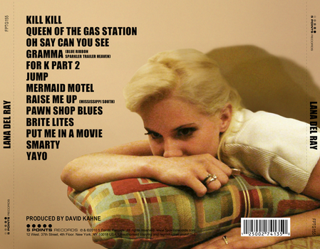 Lana Del Ray back cover by other-covers