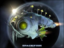 Space Fish v.2 by thmc