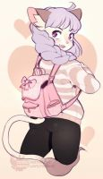 Sketch Com: Backpack by mothux